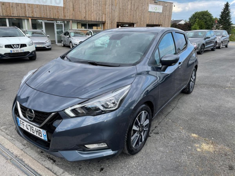 Nissan MICRA 1.0 100 -X-TRONIC N-CONNECTA GPS CAMERA 1ERE MAIN Essence GRIS Occasion à vendre