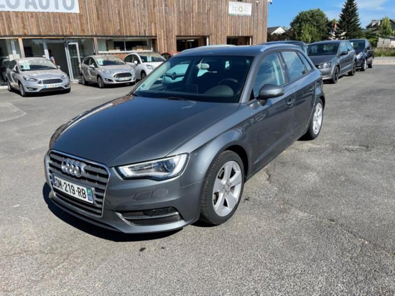 Audi A3 SPORTBACK 1.4 TFSI 122 AMBITION GPS Essence GRIS Occasion à vendre