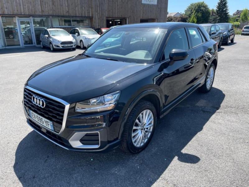 Audi Q2 1.6 TDI 116  DESIGN GPS TOIT OUVRANT Diesel NOIR Occasion à vendre