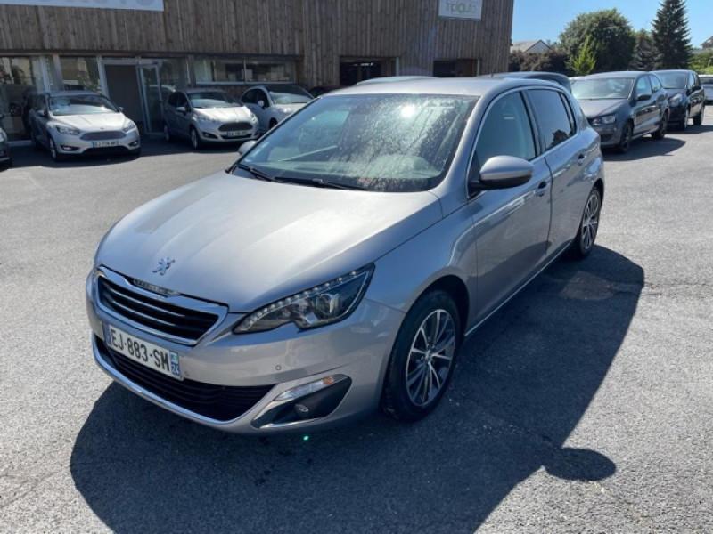 Peugeot 308  1.2I 130 S&S ALLURE   GPS CAMERA RADAR AV AR Essence GRIS Occasion à vendre