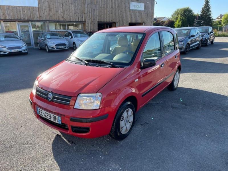 Fiat PANDA 1.2I - 60  II CLASS  Essence ROUGE Occasion à vendre