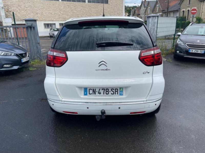 Photo 4 de l'offre de CITROEN C4 PICASSO 1.6 HDI110 MILLENIUM GPS ATTELAGE RADAR AR à 7990€ chez Triplo auto