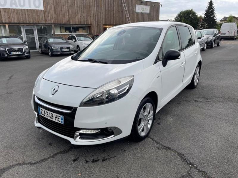 Renault SCENIC 1.5 DCI 110 BOSE GPS CAMERA RADAR AV AR DISTRI OK Diesel BLANC Occasion à vendre