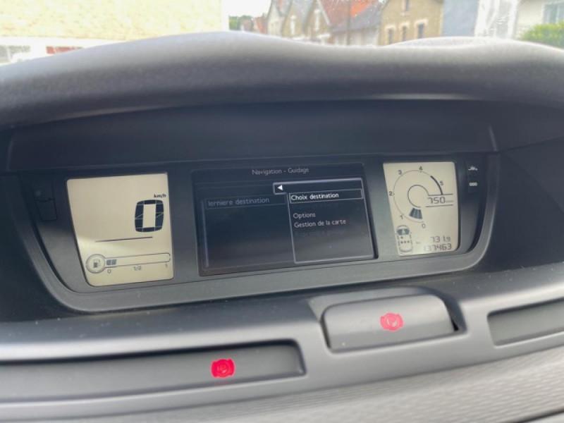 Photo 17 de l'offre de CITROEN C4 PICASSO 1.6 HDI110 MILLENIUM GPS ATTELAGE RADAR AR à 7990€ chez Triplo auto