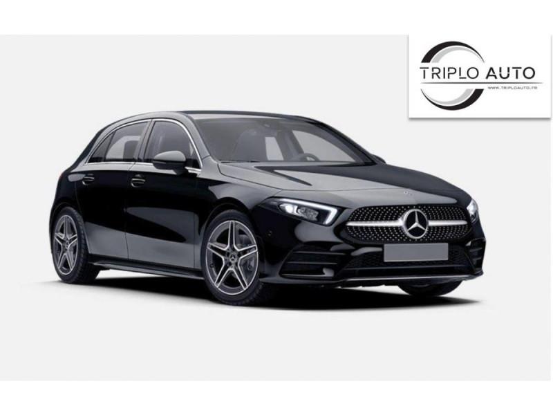 Mercedes-Benz CLASSE A A 250 E - BV 8G-DCT  BERLINE 5P - BM 177 AMG LINE  Hybride NOIR Occasion à vendre