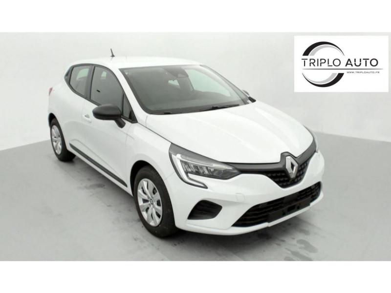 Renault CLIO V 1.0 SCE - 65 - 2021  LIFE CLIM 5KM Essence BLANC GLACIER Occasion à vendre