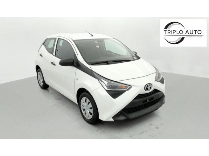 Photo 1 de l'offre de TOYOTA AYGO MY20 1.0 VVT-I X CLIM à 10490€ chez Triplo auto