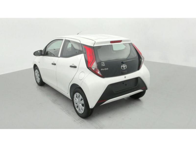 Photo 3 de l'offre de TOYOTA AYGO MY20 1.0 VVT-I X CLIM à 10490€ chez Triplo auto