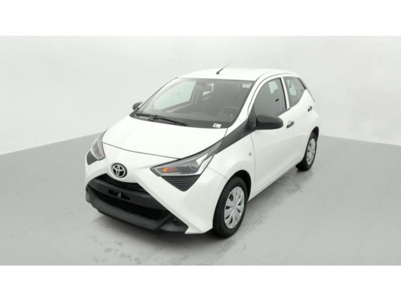 Photo 2 de l'offre de TOYOTA AYGO MY20 1.0 VVT-I X CLIM à 10490€ chez Triplo auto