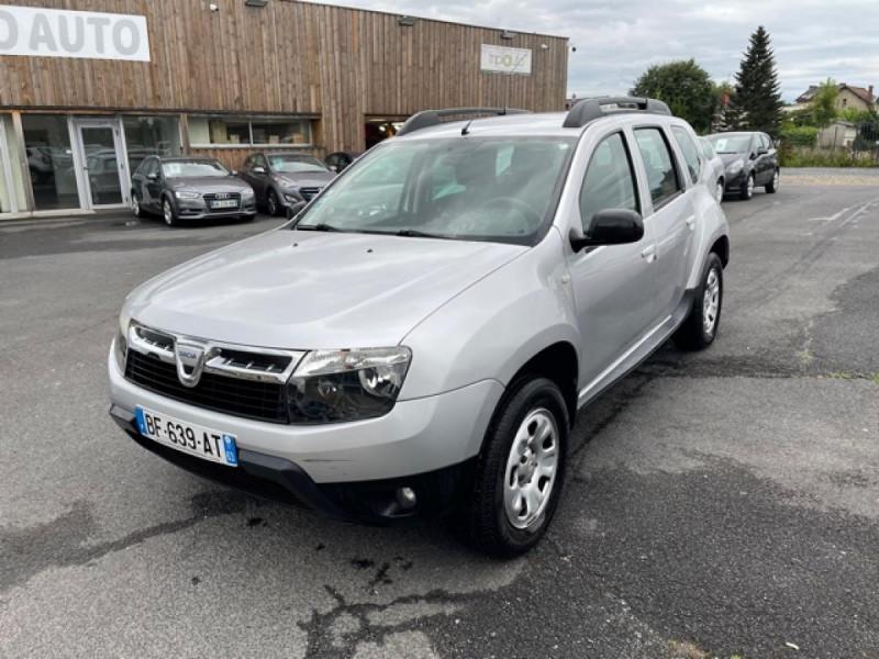 Dacia DUSTER 4X4 1.5 DCI 110 LAURéATE CLIM ATTELAGE Diesel GRIS Occasion à vendre