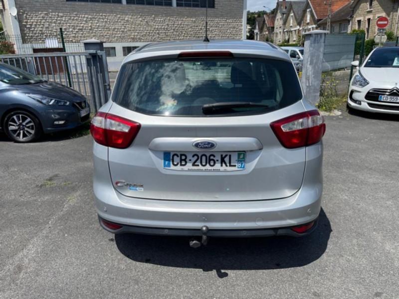 Photo 4 de l'offre de FORD C MAX 1.6 TDCI 95 TITANIUM CLIM RADAR AR ATTELAGE à 8490€ chez Triplo auto