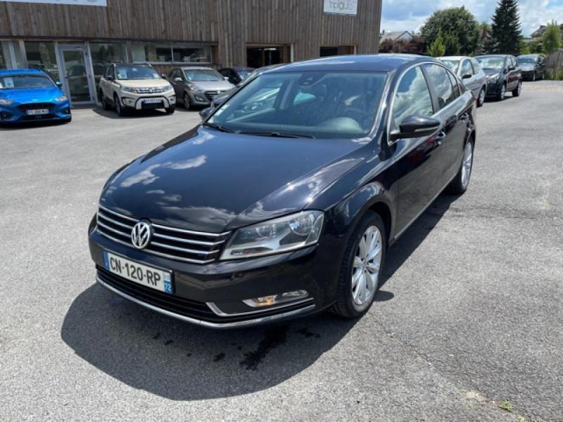 Volkswagen PASSAT 2.0 TDI 140 CONFORTLINE   CAMERA ATTELAGE TOIT OUVRANT GPS Diesel NOIR Occasion à vendre