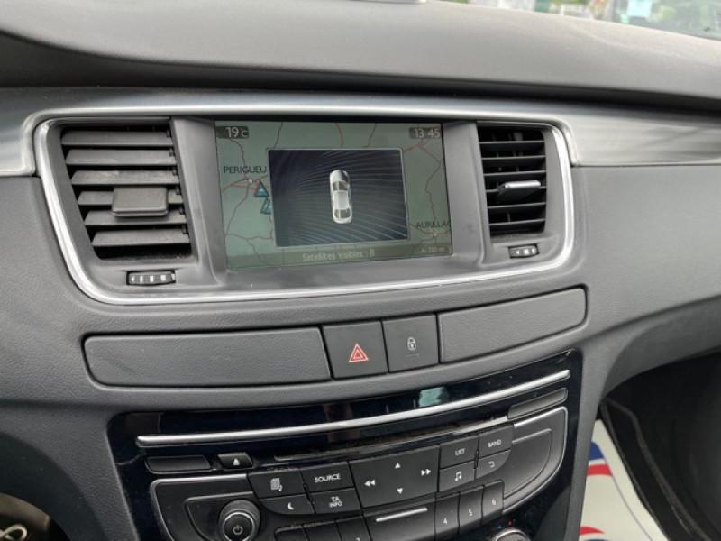 Photo 21 de l'offre de PEUGEOT 508 RXH 2.0HDI163   ELECTRIQUE 37CH  ETG6 CUIR DISTRI OK ENTRETIEN OK à 9990€ chez Triplo auto
