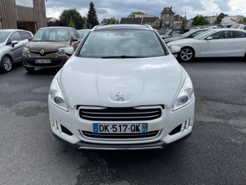 Photo 8 de l'offre de PEUGEOT 508 RXH 2.0HDI163   ELECTRIQUE 37CH  ETG6 CUIR DISTRI OK ENTRETIEN OK à 9990€ chez Triplo auto