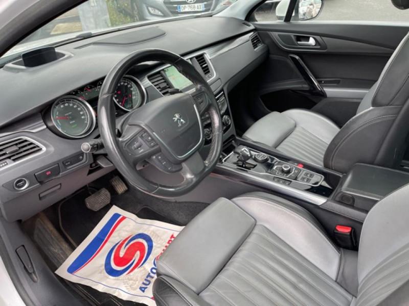 Photo 13 de l'offre de PEUGEOT 508 RXH 2.0HDI163   ELECTRIQUE 37CH  ETG6 CUIR DISTRI OK ENTRETIEN OK à 9990€ chez Triplo auto