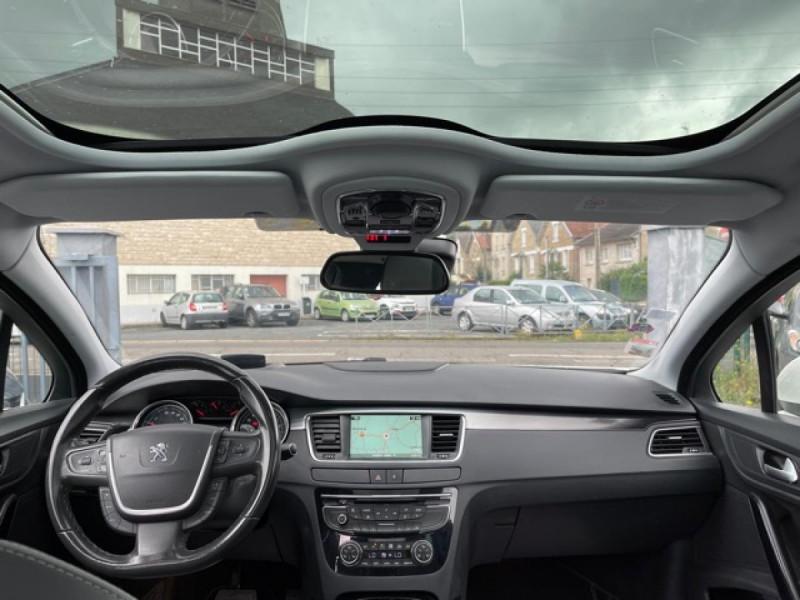 Photo 18 de l'offre de PEUGEOT 508 RXH 2.0HDI163   ELECTRIQUE 37CH  ETG6 CUIR DISTRI OK ENTRETIEN OK à 9990€ chez Triplo auto