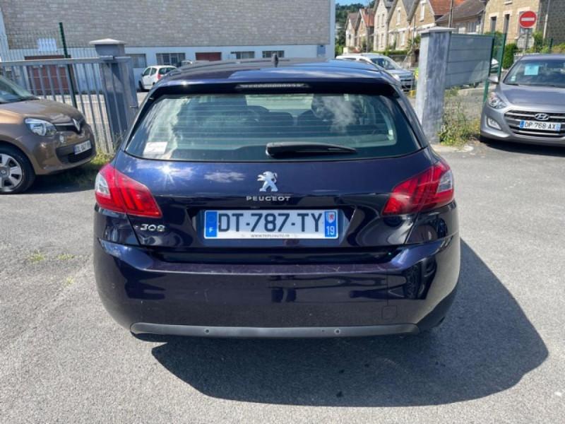 Photo 4 de l'offre de PEUGEOT 308 1.2I PURETECH 12V S&S - 110 ALLURE GPS CAMERA à 11990€ chez Triplo auto