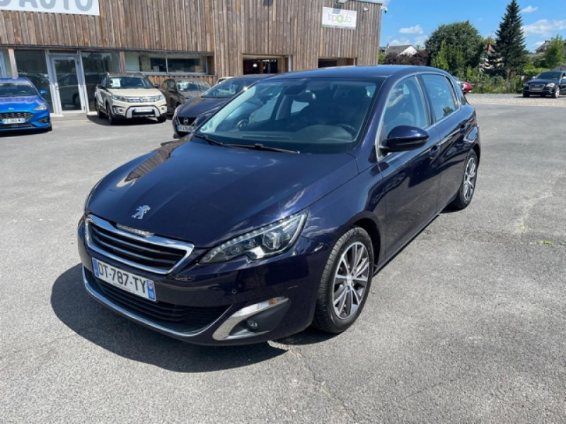 Peugeot 308 1.2I PURETECH 12V S&S - 110 ALLURE GPS CAMERA Essence BLEU Occasion à vendre