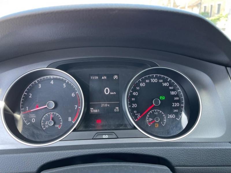 Photo 21 de l'offre de VOLKSWAGEN GOLF VII 1.4 TSI 122 DSG7 LOUNGE GPS CAMERA à 14490€ chez Triplo auto