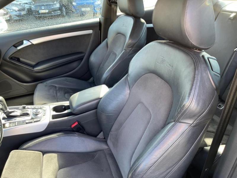 Photo 10 de l'offre de AUDI A5 QUATTRO 3.0 V6 TDI 240 S-TRONIC 7 S LINE CUIR à 16990€ chez Triplo auto