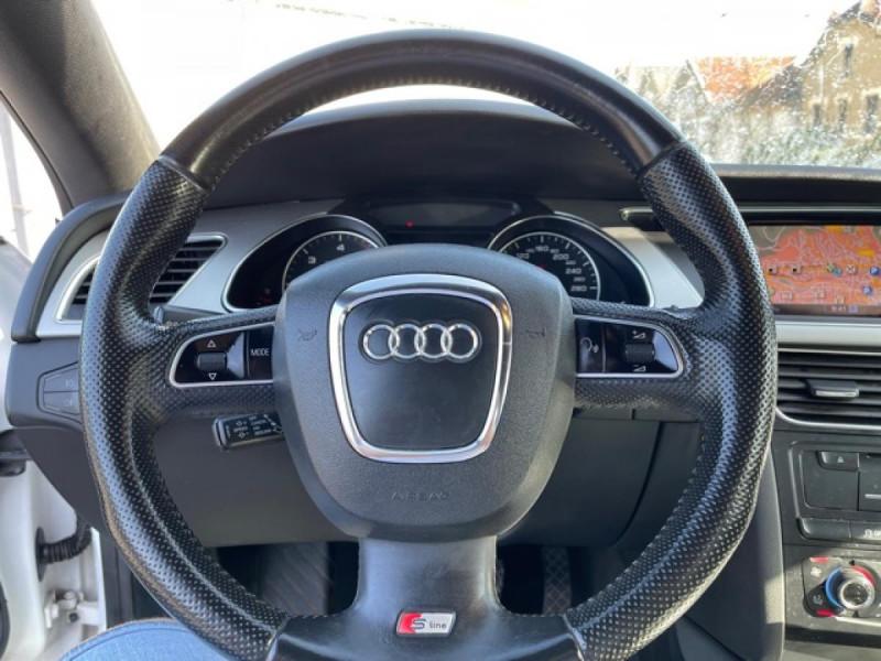 Photo 16 de l'offre de AUDI A5 QUATTRO 3.0 V6 TDI 240 S-TRONIC 7 S LINE CUIR à 16990€ chez Triplo auto
