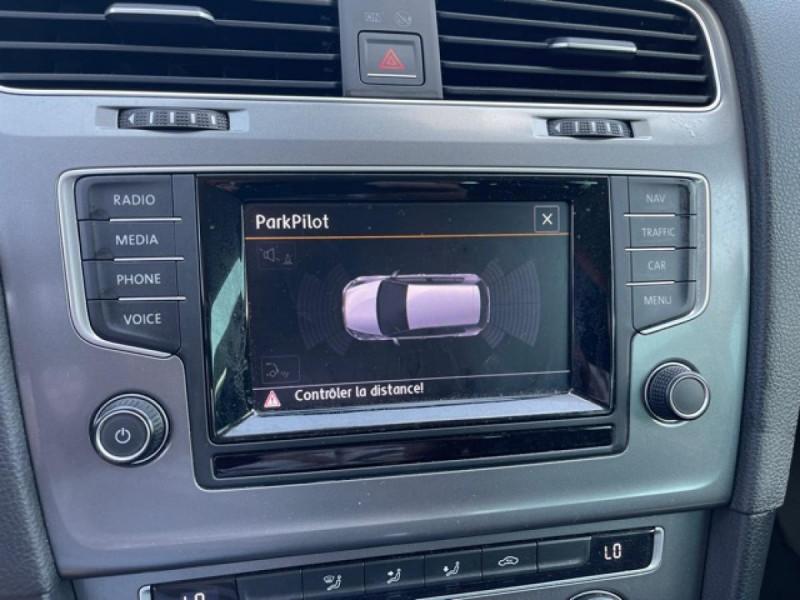 Photo 19 de l'offre de VOLKSWAGEN GOLF VII 1.4 TSI 122 DSG7 LOUNGE GPS CAMERA à 14490€ chez Triplo auto