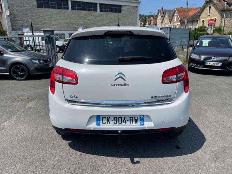 Photo 4 de l'offre de CITROEN C4 AIRCROSS 1.8 HDI FAP - 150 S&S 4X4  EXCLUSIVE   ATTELAGE TOIT PANO  à 9990€ chez Triplo auto