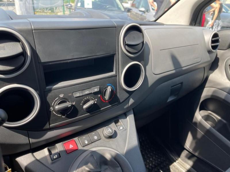 Photo 17 de l'offre de PEUGEOT PARTNER 1.6 BLUEHDI - 75  II PREMIUM CLIM à 10990€ chez Triplo auto