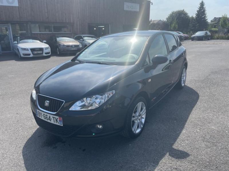 Seat IBIZA 1.6 TDI 90 STYLE COPA CLIM Diesel NOIR Occasion à vendre