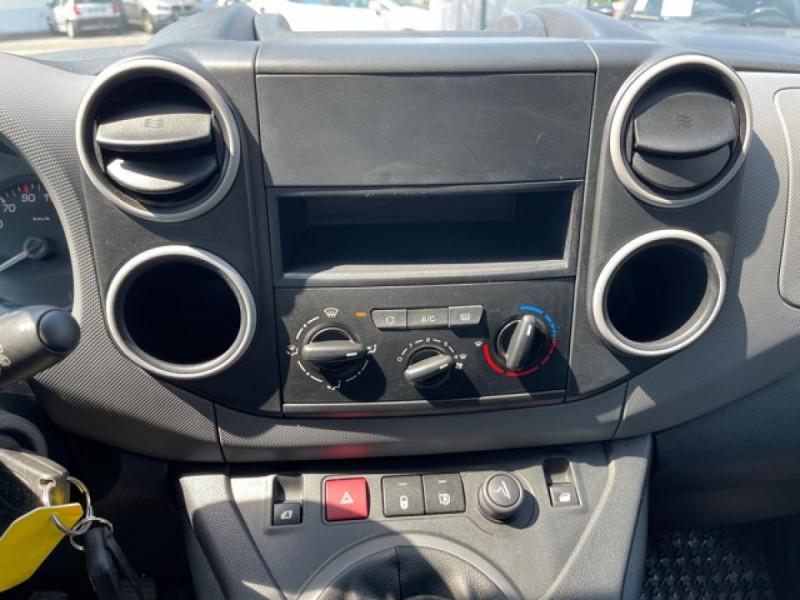 Photo 14 de l'offre de PEUGEOT PARTNER 1.6 BLUEHDI - 75  II PREMIUM CLIM à 10990€ chez Triplo auto
