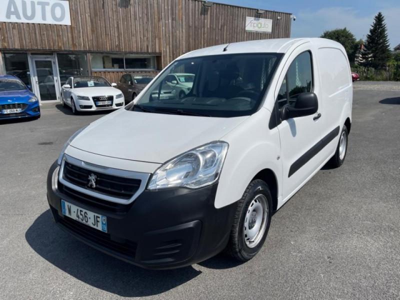 Peugeot PARTNER 1.6 BLUEHDI - 75  II PREMIUM CLIM Diesel BLANC Occasion à vendre