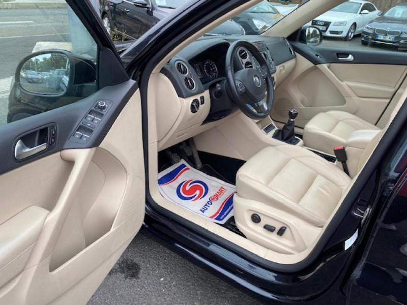 Photo 13 de l'offre de VOLKSWAGEN TIGUAN 2.0 TDI 140  CARAT   CUIR   TOIT OUVRANT   PARK ASSIST à 10990€ chez Triplo auto