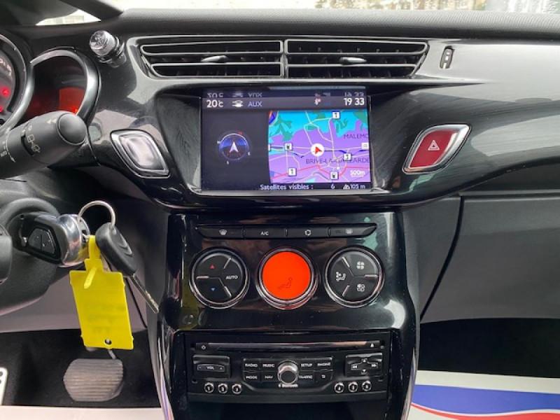 Photo 18 de l'offre de DS DS3 1.6 E-HDI 90 BVA  SO CHIC GPS   RADAR AR à 9990€ chez Triplo auto