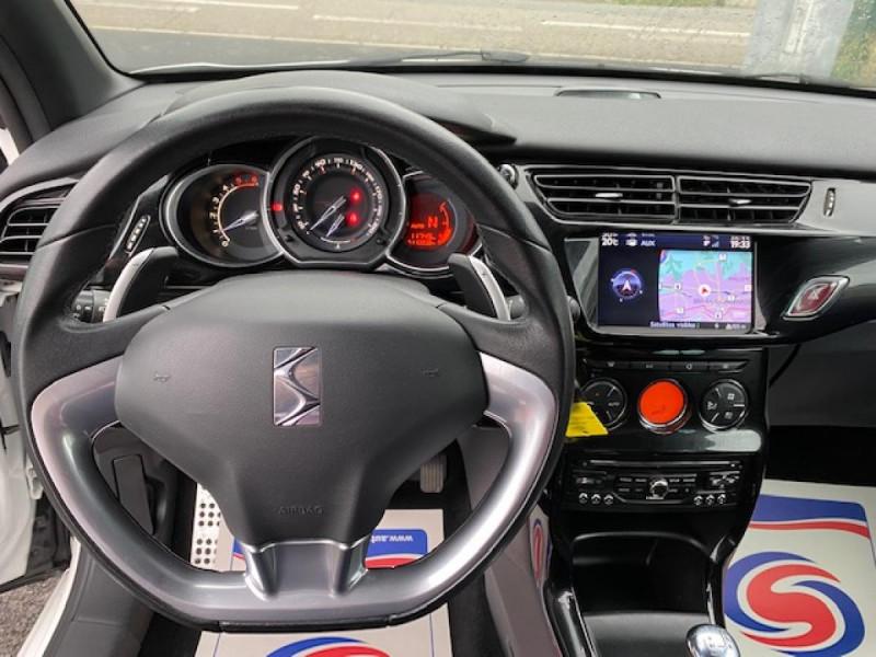 Photo 14 de l'offre de DS DS3 1.6 E-HDI 90 BVA  SO CHIC GPS   RADAR AR à 9990€ chez Triplo auto