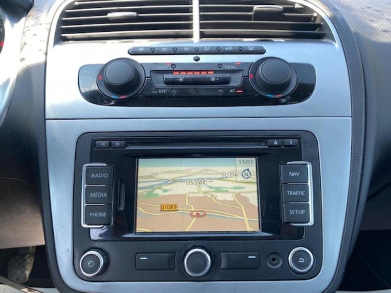 Photo 16 de l'offre de SEAT ALTEA 1.6 - 105 XL STYLE COPA GPS à 6990€ chez Triplo auto