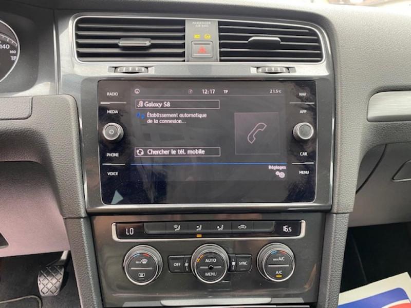 Photo 20 de l'offre de VOLKSWAGEN GOLF 1.6 TDI 115 CONFORTLINE BUSINESS SW   RADAR AV AR à 11490€ chez Triplo auto