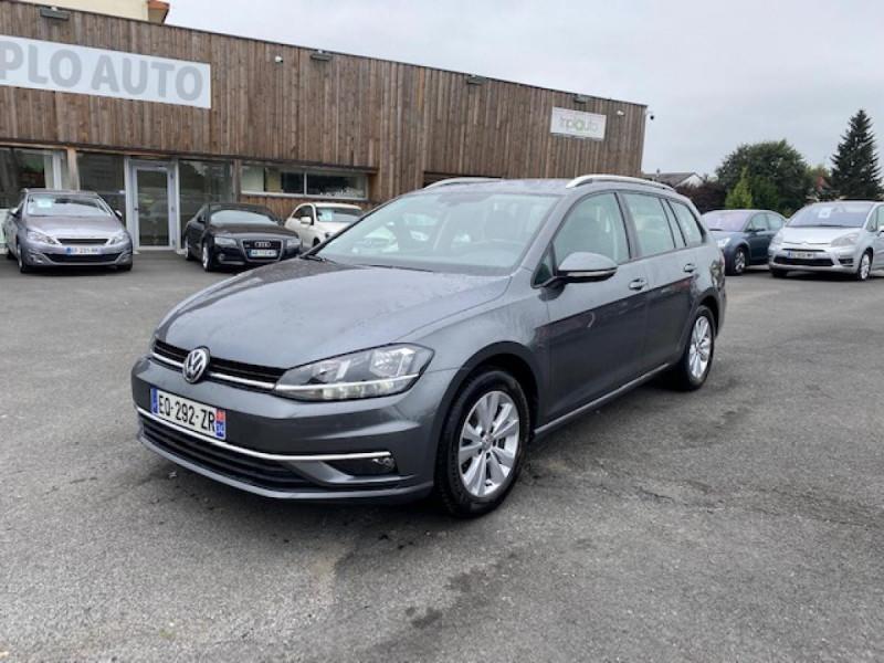 Volkswagen GOLF 1.6 TDI 115 CONFORTLINE BUSINESS SW   RADAR AV AR Diesel GRIS Occasion à vendre