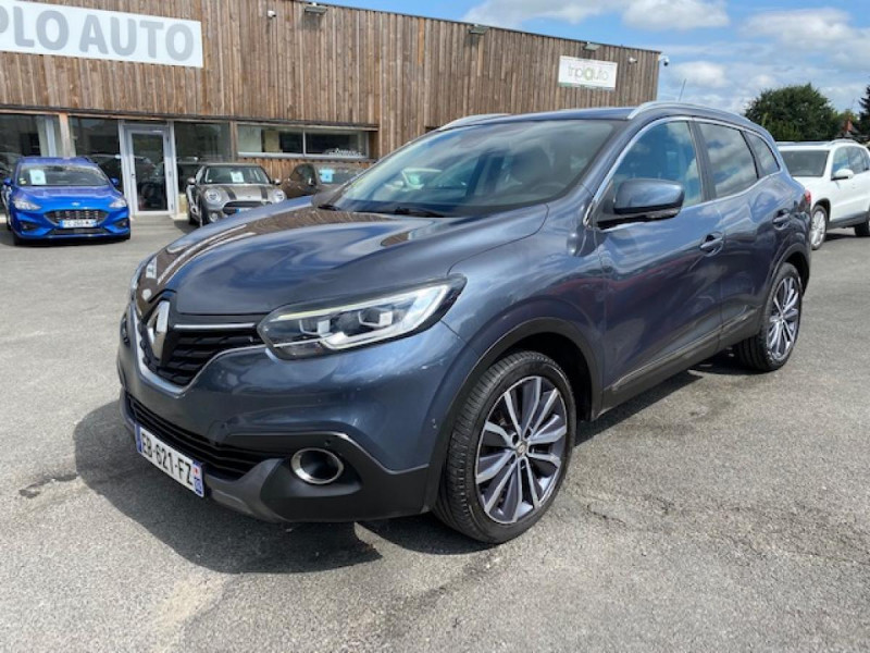 Renault KADJAR 1.5 DCI 110EDC INTENS GPS   CAMERA  Diesel GRIS Occasion à vendre