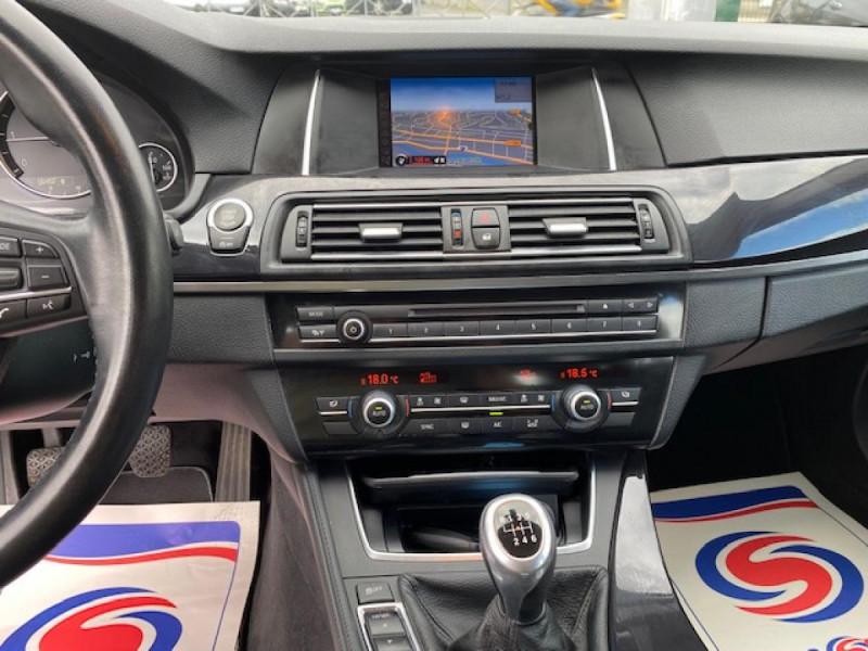 Photo 18 de l'offre de BMW SERIE 5 520D F11 TOURING LOUNGE GPS à 18990€ chez Triplo auto