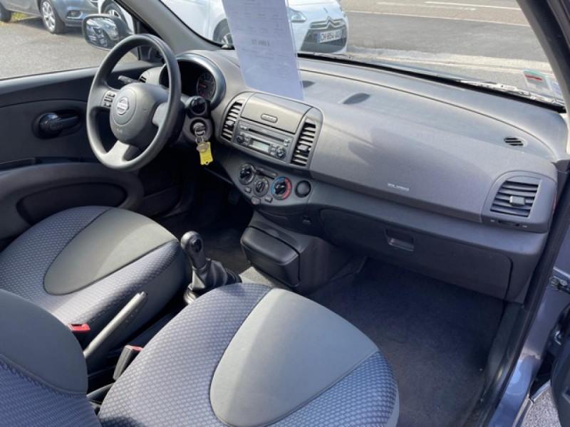 Photo 9 de l'offre de NISSAN MICRA 1.2 80 MARIE CLAIRE CLIM à 4990€ chez Triplo auto