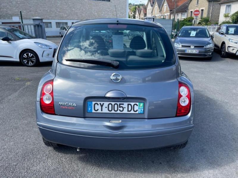 Photo 4 de l'offre de NISSAN MICRA 1.2 80 MARIE CLAIRE CLIM à 4990€ chez Triplo auto