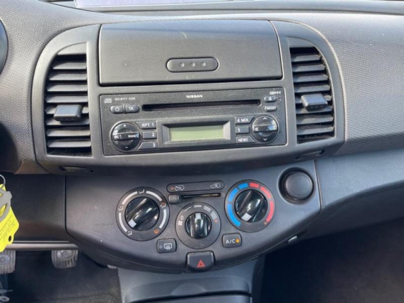 Photo 13 de l'offre de NISSAN MICRA 1.2 80 MARIE CLAIRE CLIM à 4990€ chez Triplo auto