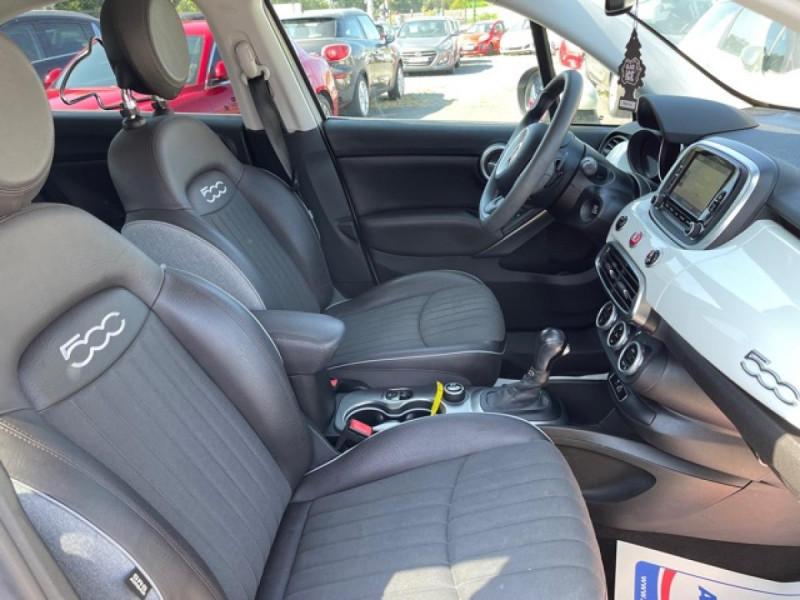 Photo 22 de l'offre de FIAT 500X 1.6 MULTIJET 120 DCT LOUNGE GPS à 16990€ chez Triplo auto