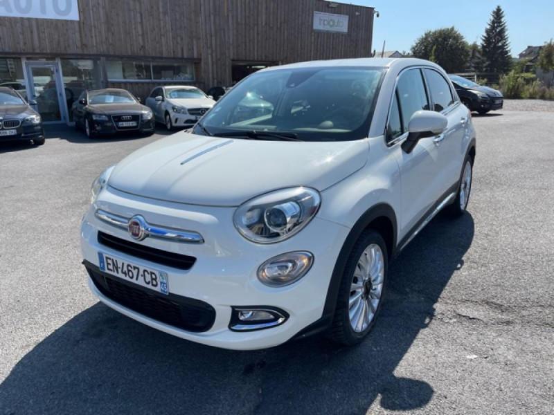 Fiat 500X 1.6 MULTIJET 120 DCT LOUNGE GPS Diesel BLANC Occasion à vendre