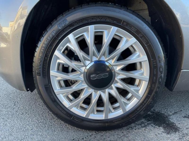 Photo 18 de l'offre de FIAT 500 CABRIOLET 1.2I - 69 LOUNGE CLIM à 12490€ chez Triplo auto
