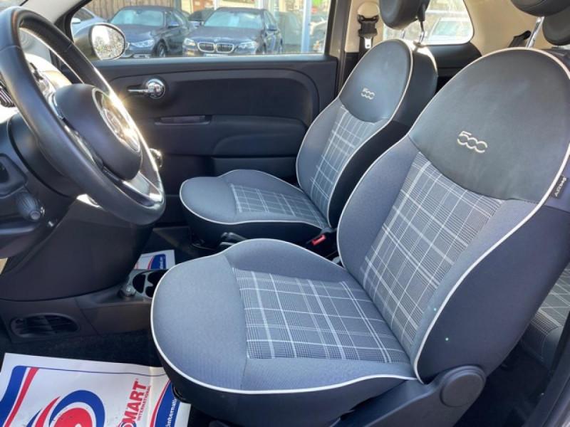Photo 11 de l'offre de FIAT 500 CABRIOLET 1.2I - 69 LOUNGE CLIM à 12490€ chez Triplo auto