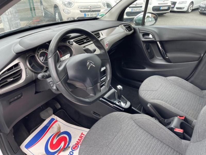 Photo 11 de l'offre de CITROEN C3 1.2 82 ETG FEEL EDITION BOITE AUTO  à 11990€ chez Triplo auto