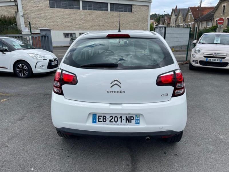 Photo 4 de l'offre de CITROEN C3 1.2 82 ETG FEEL EDITION BOITE AUTO  à 11990€ chez Triplo auto