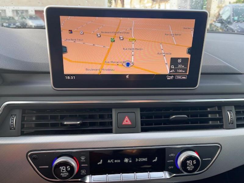Photo 19 de l'offre de AUDI A4 3.0 V6 TDI 218 S-TRONIC DESIGN GPS  à 21990€ chez Triplo auto