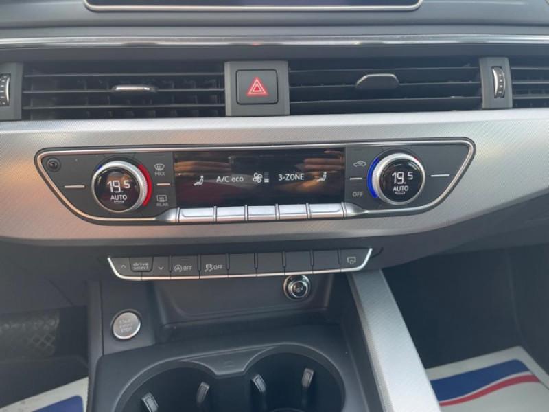 Photo 18 de l'offre de AUDI A4 3.0 V6 TDI 218 S-TRONIC DESIGN GPS  à 21990€ chez Triplo auto